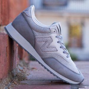 New Balance x Bergdorf Goodman 620 sneaker in gray